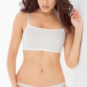 OH MY GORGEOUS Smooth Cami Bra/ Ivory